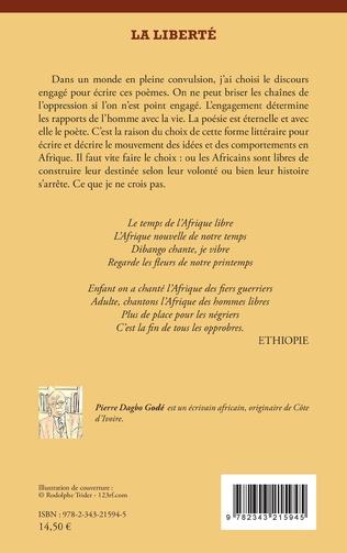 4eme La liberté. Oeuvre poétique