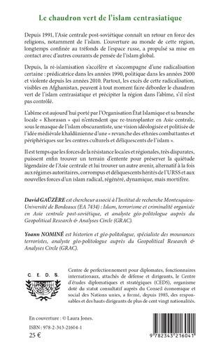 4eme Le chaudron vert de l'islam centrasiatique