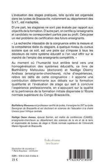 4eme Formation qualifiante et évaluation de stage au Congo-Brazzaville