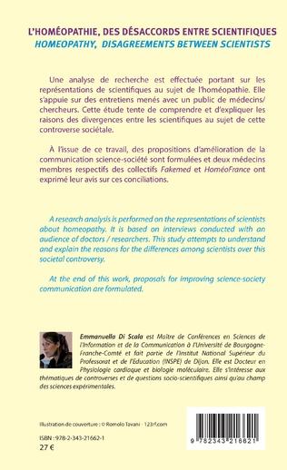 4eme L'homéopathie, des désaccords entre scientifiques