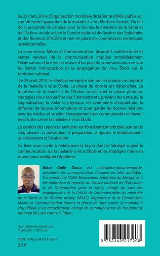 4eme Communiquer sur Ebola. Expérience du Sénégal du 23 mars au 1er décembre 2014