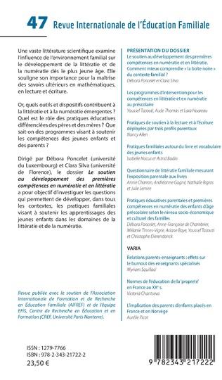 4eme Le soutien au développement des premières compétences en numératie et en littératie
