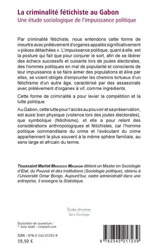 4eme La criminalité fétichiste au Gabon