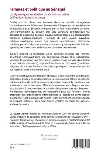 4eme Femmes et politique au Sénégal