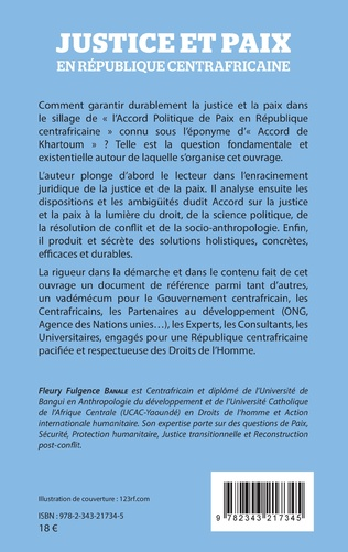 4eme Justice et paix en République centrafricaine