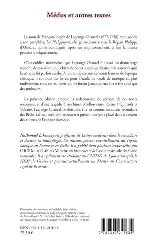 4eme Médus Roi des Mèdes, Cassandre, Ariane, Le Crime puni, Orphée