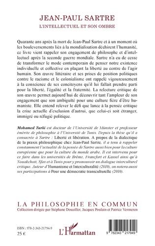 4eme Jean-Paul Sartre. L'intellectuel et son ombre