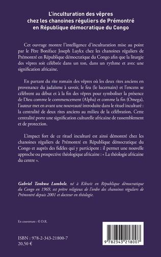 4eme L'inculturation des vêpres chez les chanoines réguliers de Prémontré