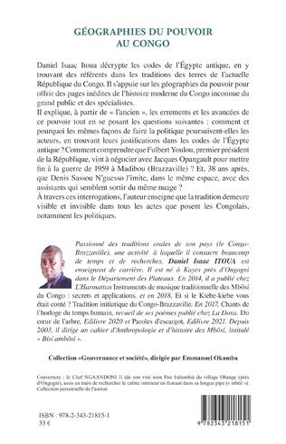 4eme Géographies du pouvoir au Congo