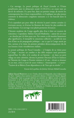 4eme La pensée politique de Pascal Lissouba et l'Union panafricaine pour la démocratie sociale (U.PA.D.S.)