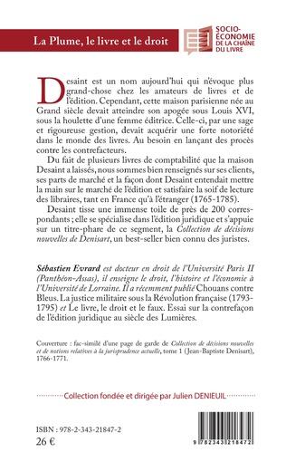 4eme La Plume, le livre et le droit