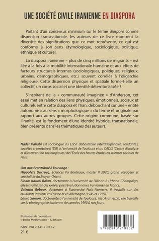 4eme Une société civile iranienne en diaspora