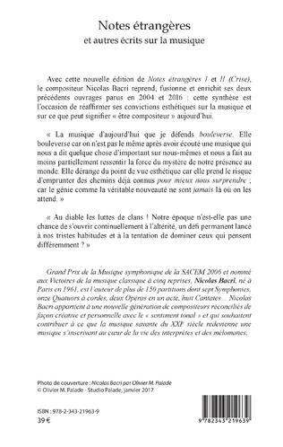 4eme Notes étrangères
