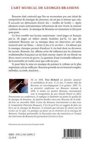 4eme L'art musical de Georges Brassens