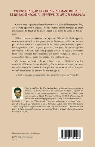 4eme Colons français et chefs musulmans du Haut et du Bas-Sénégal