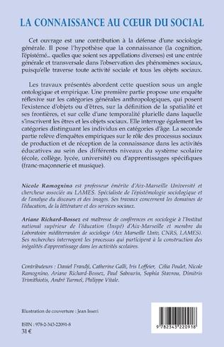 4eme La connaissance et la sociologie du curriculum