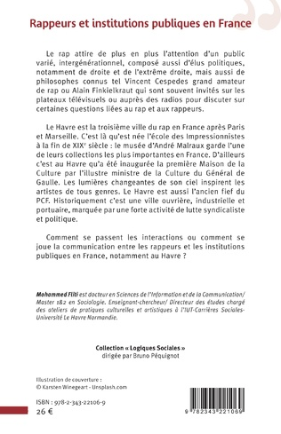 4eme Rappeurs et institutions publiques en France