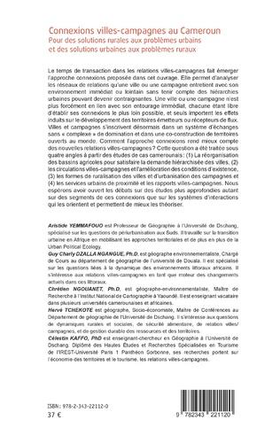 4eme Connexions villes-campagnes au Cameroun