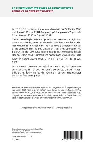4eme Le 1er régiment étranger de parachutistes pendant la guerre d'Algérie
