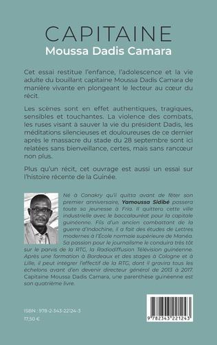 4eme Capitaine Moussa Dadis Camara. Une parenthèse guinéenne (Nouvelle édition)