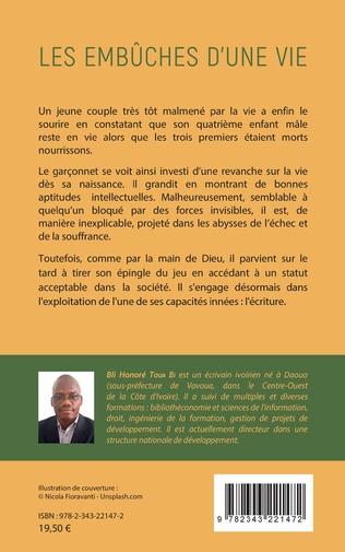 4eme Les embûches d'une vie. Autobiographie