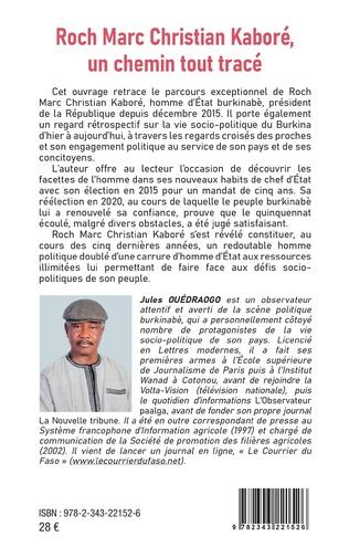 4eme Roch Marc Christian Kaboré, un chemin tout tracé