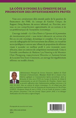 4eme La Côte d'Ivoire à l'épreuve de la promotion des investissements privés