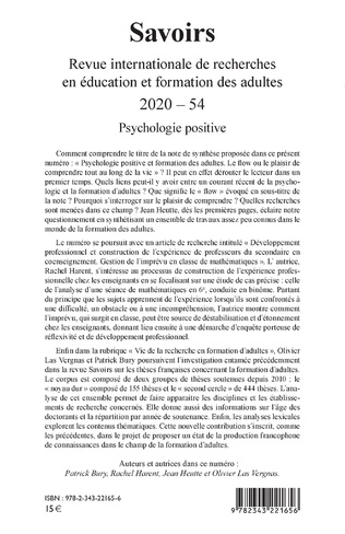 4eme PSYCHOLOGIE POSITIVE
