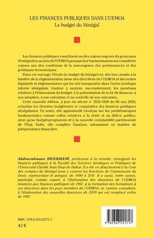 4eme Les finances publiques dans l'UEMOA (2ème édition)