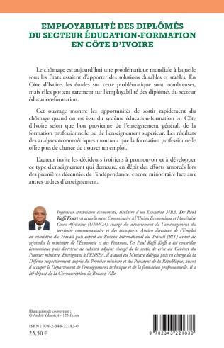 4eme Employabilité des diplômés du secteur éducation-formation en Côte d'Ivoire