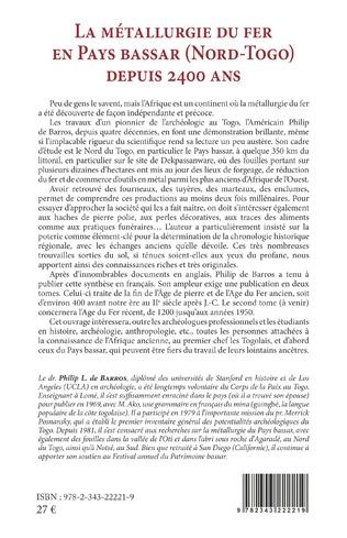 4eme La métallurgie du fer en pays Bassar (Nord-Togo) depuis 2400 ans