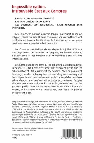 4eme Impossible nation, introuvable État aux Comores