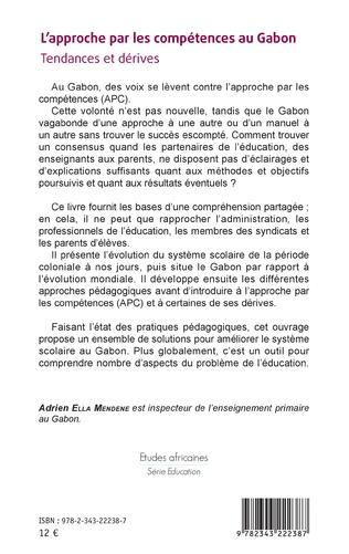 4eme L'approche par les compétences au Gabon