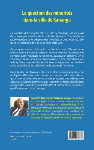 4eme La question des minorités dans la ville de Kananga