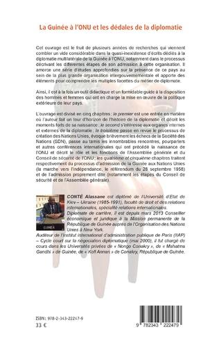 4eme La Guinée à l'ONU et les dédales de la diplomatie