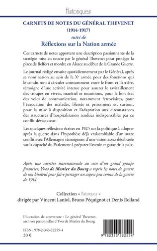 4eme Carnets de notes du Général Thevenet