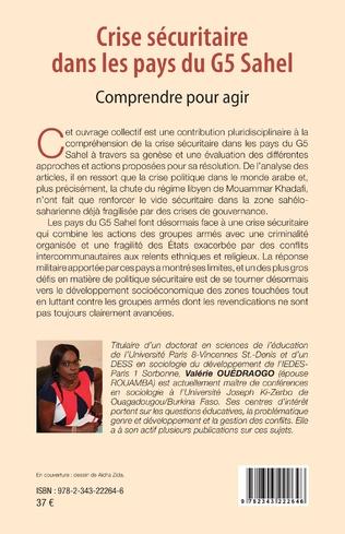 4eme Crise sécuritaire dans les pays du G5 Sahel