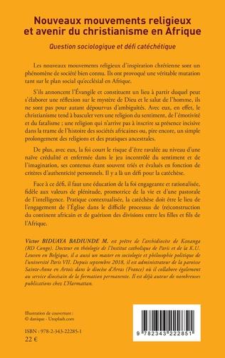 4eme Nouveaux mouvements religieux et avenir du christianisme en Afrique