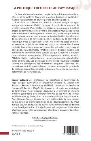 4eme La politique culturelle au Pays Basque