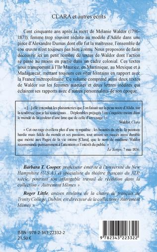 4eme CLARA et autres écrits