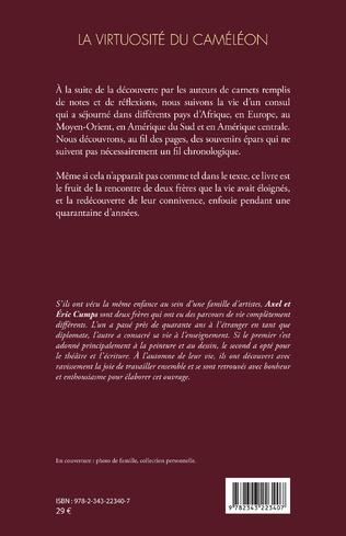 4eme La virtuosité du caméléon