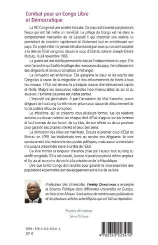4eme Combat pour un Congo libre et démocratique