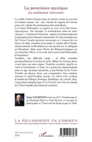 4eme La prescience mystique