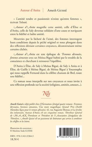 4eme Autour d'Anita. Roman