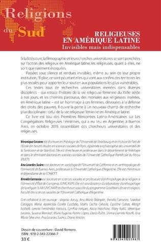 4eme Religieuses en Amérique latine