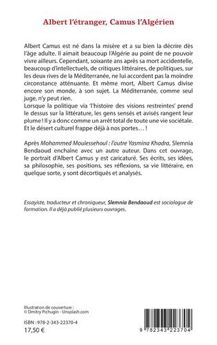 4eme Albert l'étranger, Camus l'Algérien