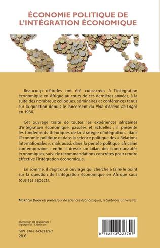 4eme Économie politique de l'intégration économique