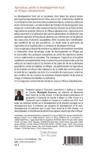 4eme Agriculture, pêche et développement local en Afrique subsaharienne