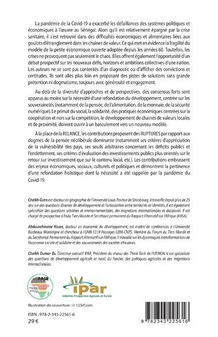 4eme Sénégal post-Covid-19 : souveraineté et ruptures