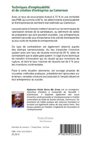 4eme Techniques d'employabilité et de création d'entreprise au Cameroun